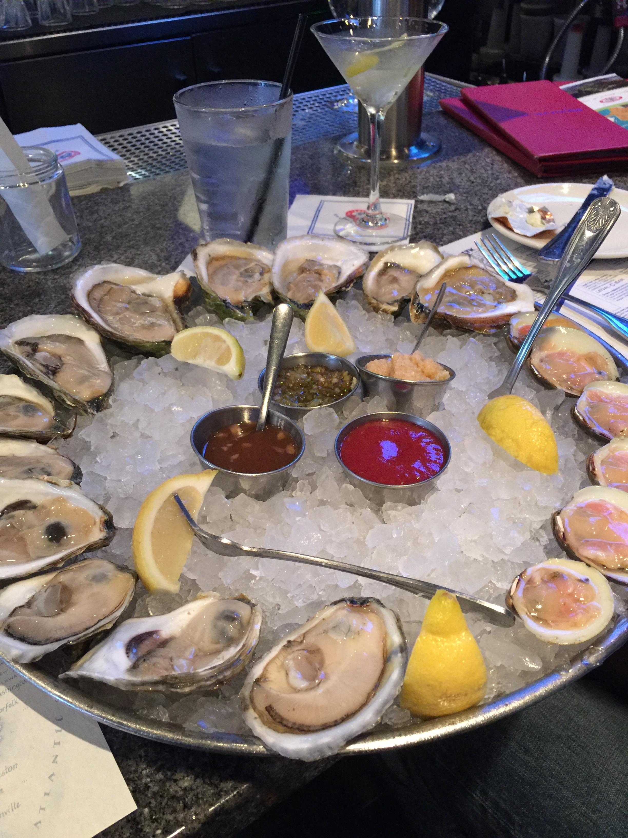 Best oysters in Boston are not actually in Boston