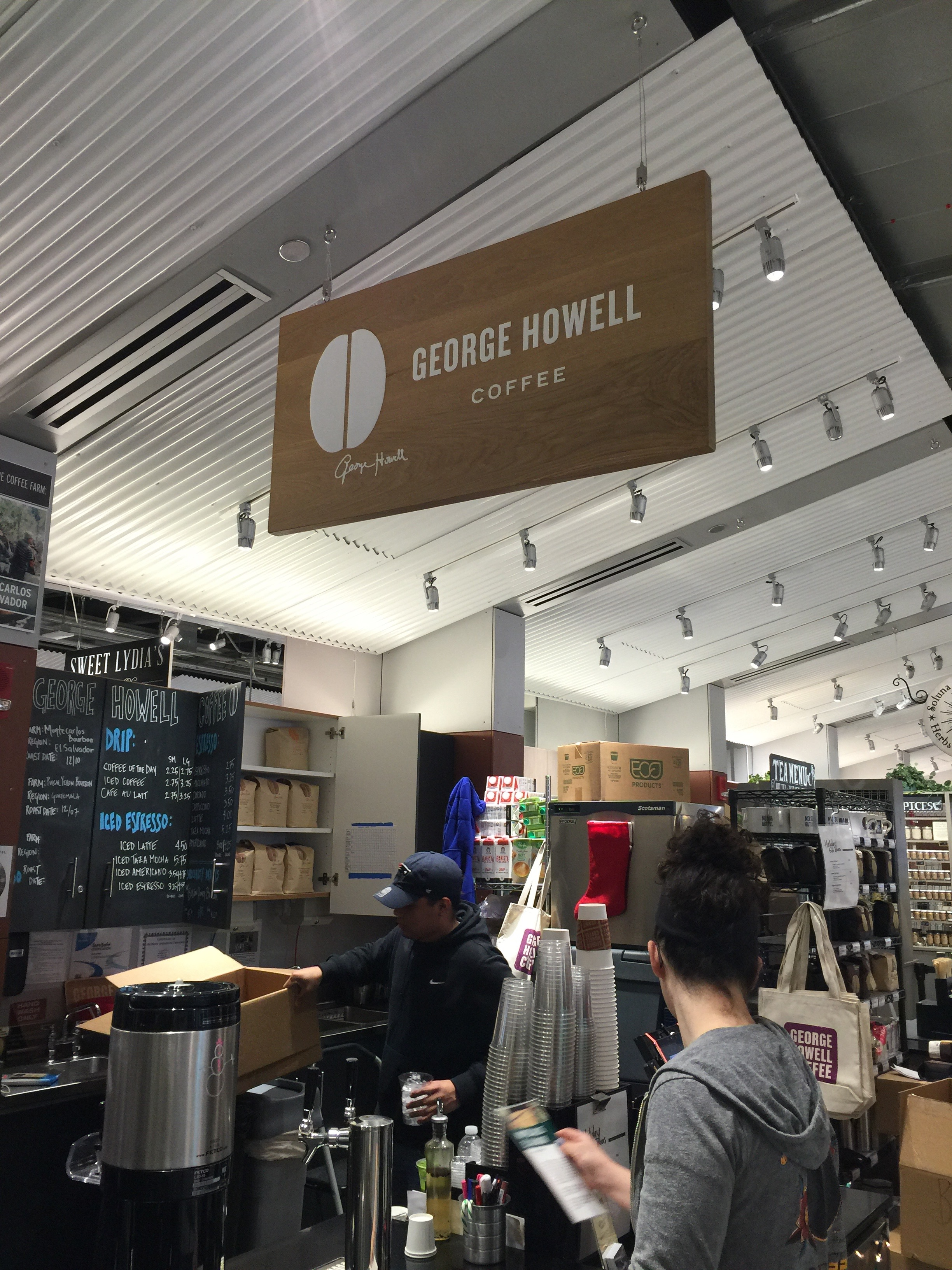 George Howell coffee - the place to get your coffee geek on in a good way
