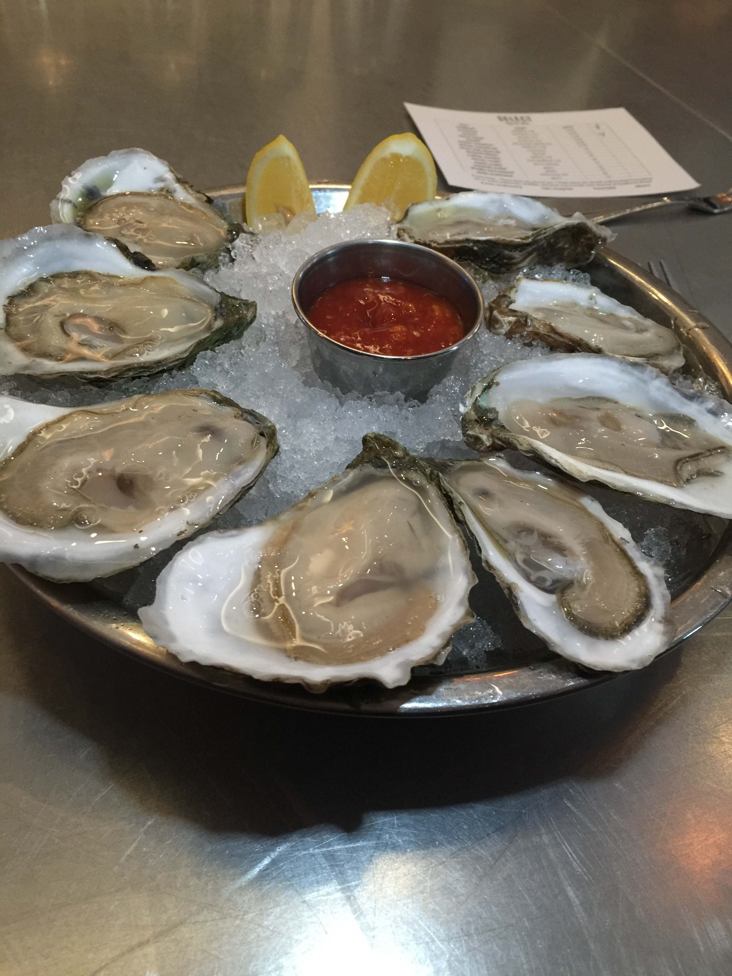First oysters of 2016