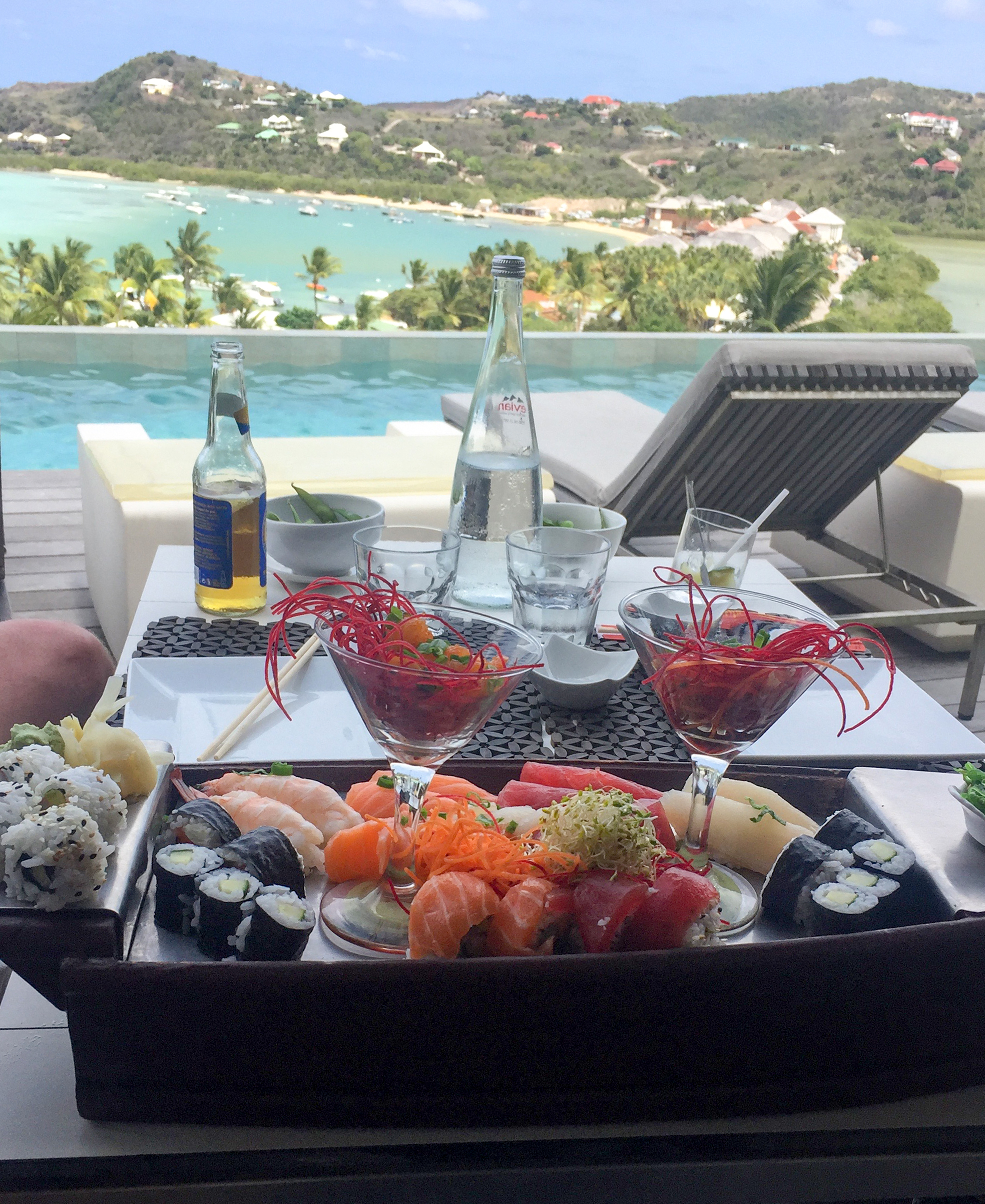 Sushi with a view!